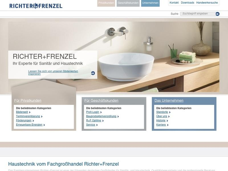 Screenshot von http://www.richter-frenzel.de