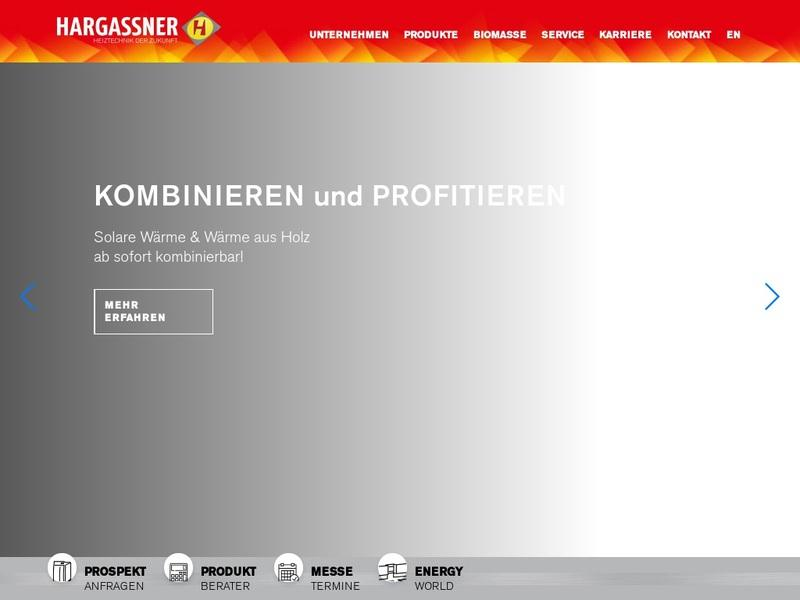 Screenshot von http://www.hargassner.at